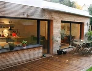 prix extension bois 20m2 With extension maison bois 20m2