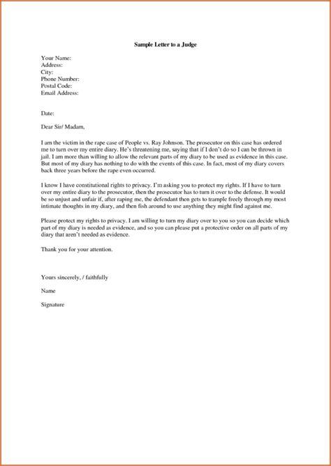 sample character letter  judge   leniency