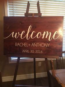 Welcome, Sign, Vinyl, Decal