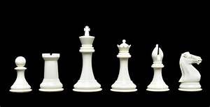 """The Collector Series Plastic Chessmen - 3.75"""" King 