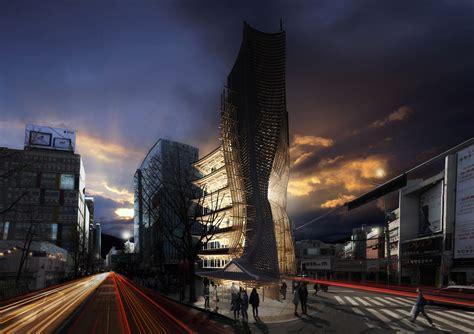 Evolo Skyscraper Winner 2014 Transforms Korean 'hanok