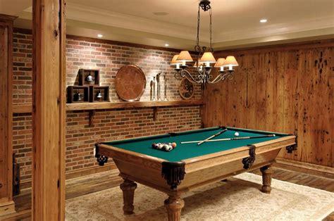 pool table room decor billiards room interior design tips and ideas home