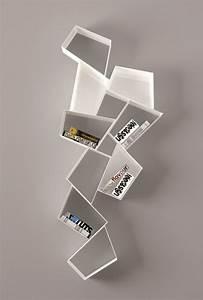 Etagere Murale Suspendue : biblioth que suspendue murale et design pour vos livres ~ Preciouscoupons.com Idées de Décoration