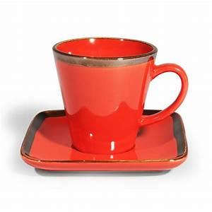 Tasse à Café Maison Du Monde : tasse caf en gr s rouge allure maisons du monde ~ Teatrodelosmanantiales.com Idées de Décoration