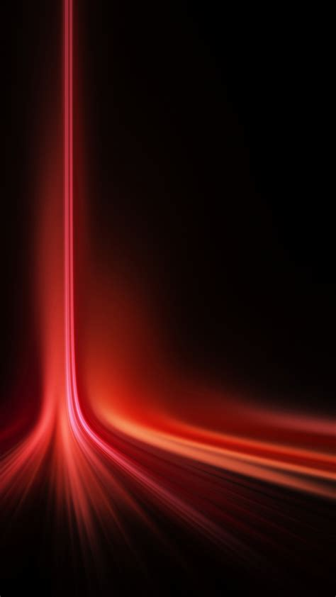 vertical red laser light spread android wallpaper