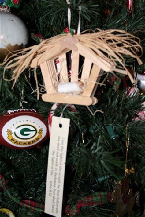 craft stick manger christmas pinterest craft sticks