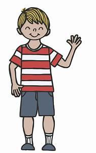 Clipart Images- Child Waving - ClipArt Best