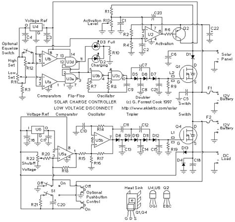 Solar Panel Charge Controller Low Voltage Disconnect