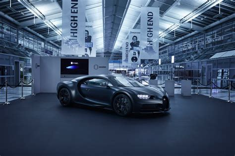 Bugatti Chiron Sound System by Accuton At The High End Trade Fair In Munich