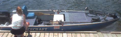 Fan Boat Conversion by V Bottom Jon Boat Conversion