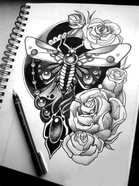 Sketches for tattoos of sleeves - BeatTattoo.com