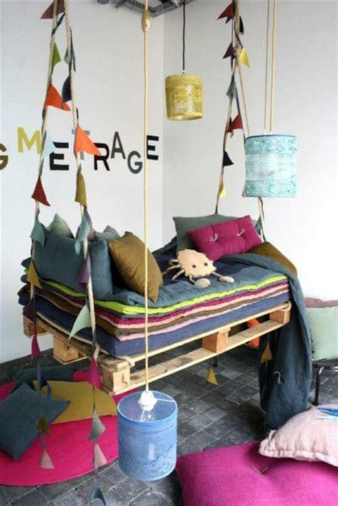 chambre en alcove coole möbel aus europaletten 55 bastelideen für alte