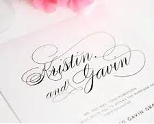 Font For Wedding Invitations by Script Elegance Wedding Invitations Wedding Invitations By Shine
