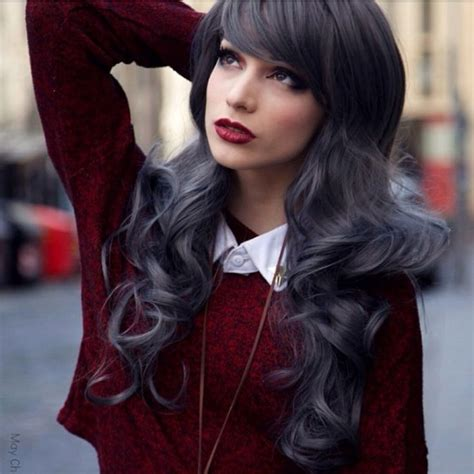 Charcoal Hair Dye by Charcoal Hair Hair Color Charcoal And Hair