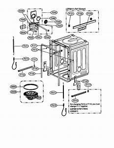Lg Dishwasher Parts
