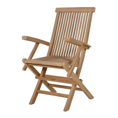 chairs and stools folding teak chair with arms