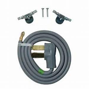 Whirlpool 4 Ft  3-wire 40 Amp Range Cord-pt220