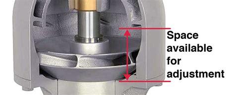 making shaft lift adjustments  vertical turbine pumps pumps systems