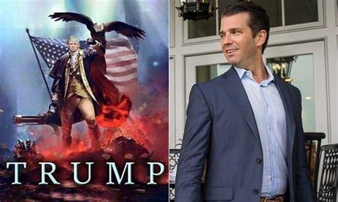 donald trump jr posts bizarre fourth  july photoshop