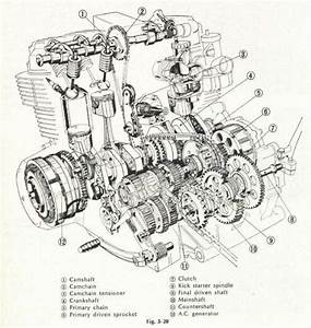 Motorcycle Engine Diagram Engineering Drawings And