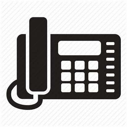 Office Phone Icon Landline Telephone Fixed Line