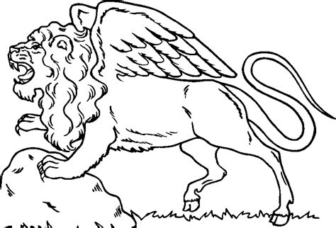 coloring page lion coloring home