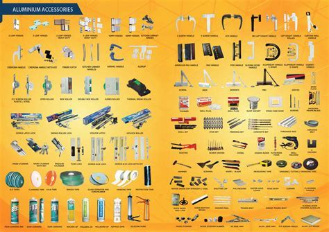 Aluminium Accessories UAE   ALPHAGLASS LLC