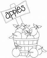 Stamps Digital Digi Apples Ice Cream Coloring Pages Filled Basket Soda Parlor Autumn Uploaded User sketch template