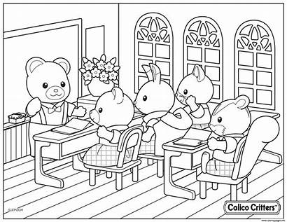 Coloring Critters Calico Pages Critter Inspiring Within