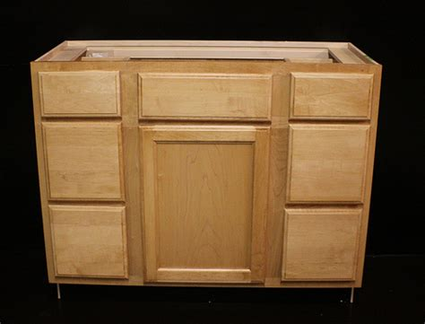 42 sink base cabinet kraftmaid maple bathroom vanity sink base cabinet 42 quot w ebay