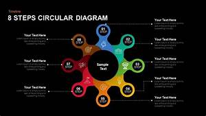 8 Steps Circular Diagram Powerpoint And Keynote Template