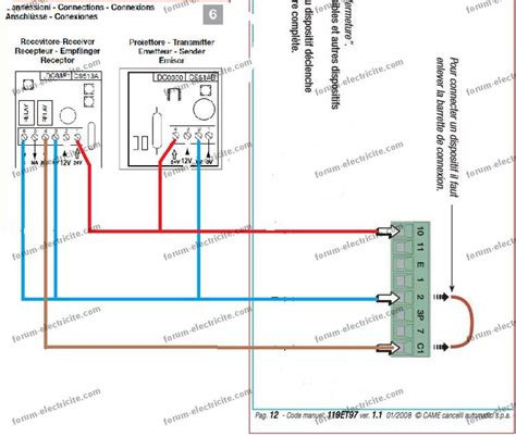 Schéma De Câblage Cellule Contacteur