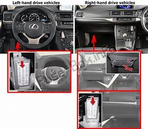 Fuse Box Diagram  U0026gt  Lexus Ct200h  A10  2011