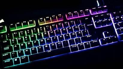 Rgb Gaming Corsair Wallpapers Keyboard Desktop Pc