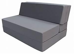 Merax convertible 5 folding foam sleeping mattress sofa for Foam convertible sofa bed