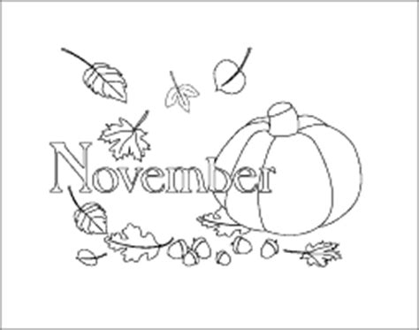 printable calendar picture months coloring pages