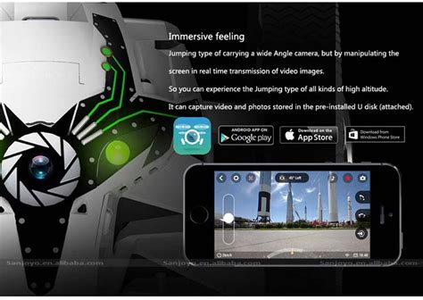 smartphone controlled toys parrot minidrone jumping sumo robot smartphone tablet