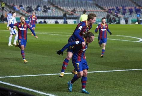 Spanish Super Cup match report Real Sociedad v FC Barcelona