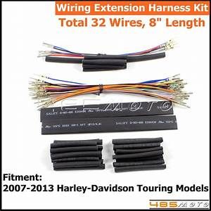 8 U0026quot  Handlebar Switch Wiring Extension Harness Kit For