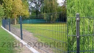 20m Metall Zaun Hhe 123cm Gartenzaun Anthrazit Zune