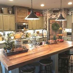 46, Inspiring, Rustic, Country, Kitchen, Ideas, To, Renew, Your, Ordinary, Kitchen