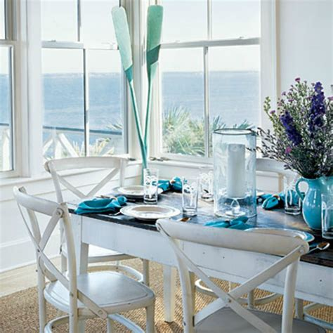 inspirations on the horizon coastal dining room