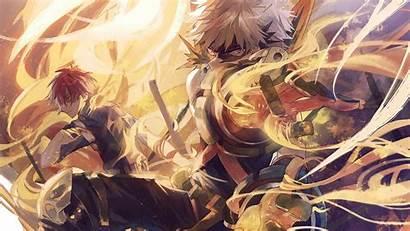 Bakugou Todoroki Anime Hero 4k Academia Wallpapers