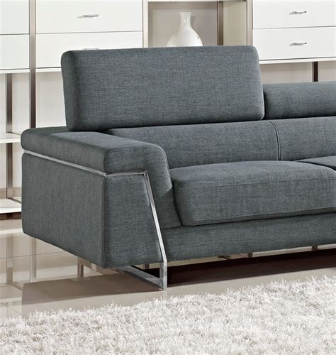 fabric sofas and sectionals justine modern fabric sectional sofa set fabric