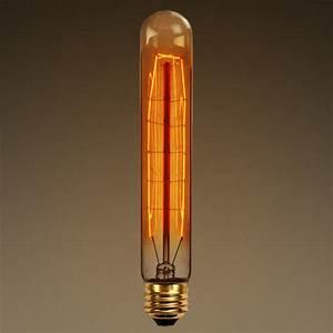 Watt antique bulb t hand wound tungsten