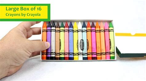 Set Of 16 Crayons By Crayola Product Review 52-0016