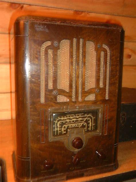 rca table radios callaway clock  antique radio service