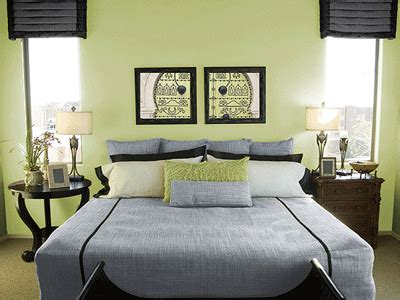 Bedroom Decorating Ideas Light Green Walls by Green Is The Color For Creating Healthy Bedroom Designs