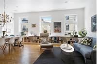 apartment living room decorating ideas Refined Scandinavian Apartment Inspiring Joyful Home ...