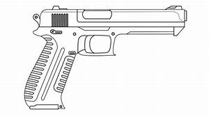 Gun drawing by Red-scope on DeviantArt